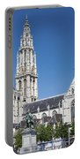 Our Lady Cathedral Antwerp Portable Battery Charger