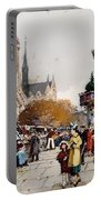 Our Lady For The Quai Saint-michel Portable Battery Charger