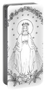 Our Lady Of Grace Portable Battery Charger
