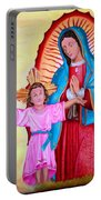 Our Lady Of Guadalupe And Child Portable Battery Charger