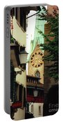 Our Ladys Minster Church In Zurich Switzerland Portable Battery Charger