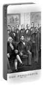 Our Presidents 1789-1881 Portable Battery Charger
