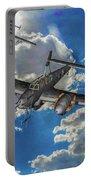 Out Of The Sun - Messerschmitt Bf 110g - Oil Portable Battery Charger