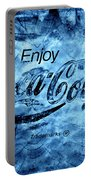 Out Of This World Coca Cola Blues Portable Battery Charger