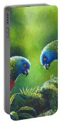 Out On A Limb - St. Lucia Parrots Portable Battery Charger