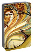 Out West Original Madart Painting Portable Battery Charger