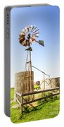 Outback Australian Farm Mill Portable Battery Charger