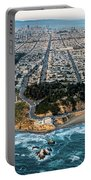 Outer Richmond San Francisco Aerial Portable Battery Charger
