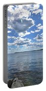 Outhaul On An Island In Casco Bay Maine  Portable Battery Charger