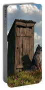 Outhouse Guardian - German Shepherd Version Portable Battery Charger