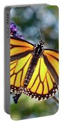 Outstretched Monarch Portable Battery Charger