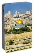 Over Jerusalem Portable Battery Charger
