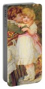 Over The Garden Wall Portable Battery Charger by Frederick Morgan