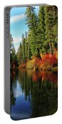 Over The Mountains And Thru The Trees Portable Battery Charger