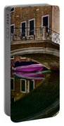 Over The River And Through The Buildings Portable Battery Charger
