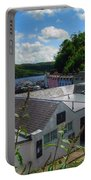 Over The Rooftops At Portree Portable Battery Charger