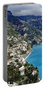 Overall View Of Part Of The Amalfi Coast In Italy Portable Battery Charger