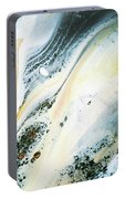 Overcast Sea Abstract Portable Battery Charger