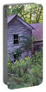 Overgrown Abandoned 1800 Farm House Portable Battery Charger