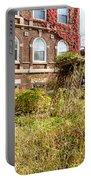 Overgrown Fall Garden Portable Battery Charger