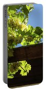 Overhead Grape Harvest - Summertime Dreaming Of Fine Wines Portable Battery Charger