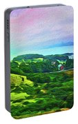 Overlooking San Francisco Bay Portable Battery Charger