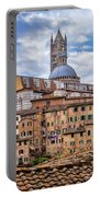 Overlooking Siena And The Duomo Portable Battery Charger