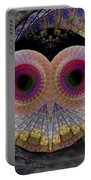 Owl Abstract Portable Battery Charger