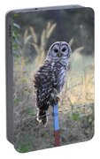 Owl Cherish This Moment Forever Portable Battery Charger
