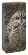 Owl In The Woods Portable Battery Charger
