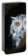 Owl In Tree Portable Battery Charger