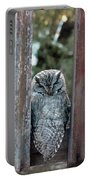 Owl On Deck Portable Battery Charger