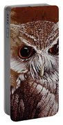 Owl Painting  Portable Battery Charger