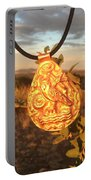 Owl Pendant Portable Battery Charger