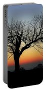Owl Sunset Portable Battery Charger