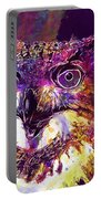 Owl The Female Eagle Owl Bird  Portable Battery Charger