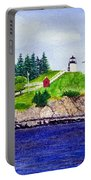 Owls Head Lighthouse Portable Battery Charger