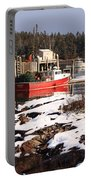 Owls Head Snow Portable Battery Charger