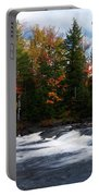 Oxtongue River Ontario Autumn Scenery Portable Battery Charger