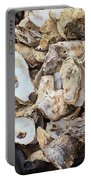 Oyster Shells Portable Battery Charger