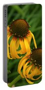 Ozark Yellow Coneflowers Portable Battery Charger