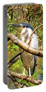 P2024983 Black Crowned Night Heron Portable Battery Charger