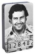 Pablo Escobar Mugshot Portable Battery Charger
