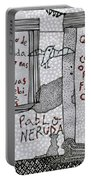 Pablo Neruda Portable Battery Charger