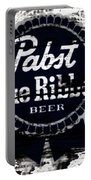Pabst Blue Ribbon Beer Sign Portable Battery Charger