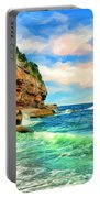 Pacific Coast At Big Sur Portable Battery Charger
