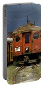 Pacific Electric Trolley, 5115, 316, Long Beach, California Portable Battery Charger