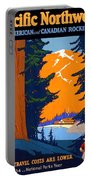 Pacific Northwest, American And Canadian Rockies, National Park Portable Battery Charger