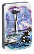 Pacific Northwest Montage  Portable Battery Charger