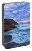 Pacific Ocean At Cape Kiwanda In Oregon Portable Battery Charger